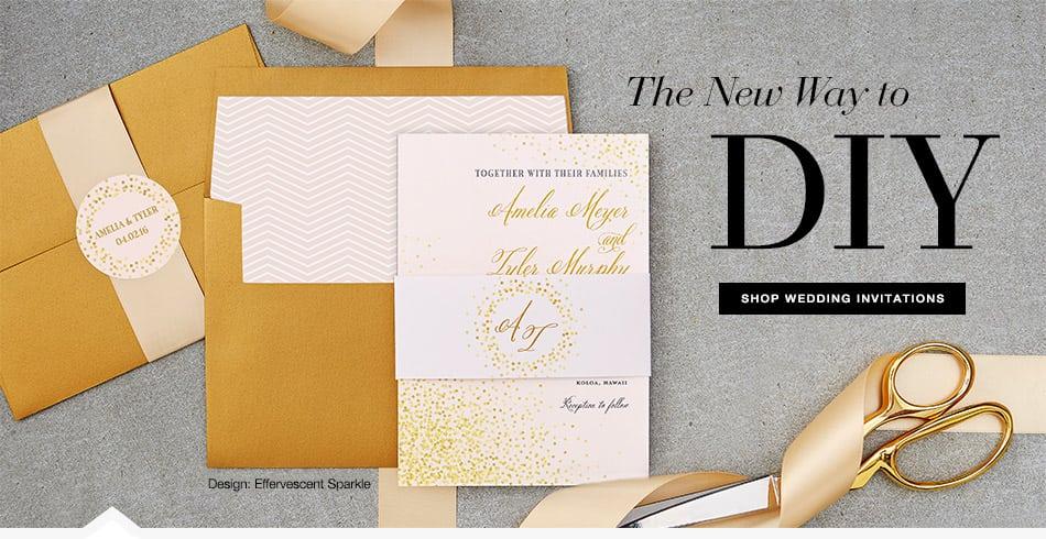 Diy Wedding Invitations Paper