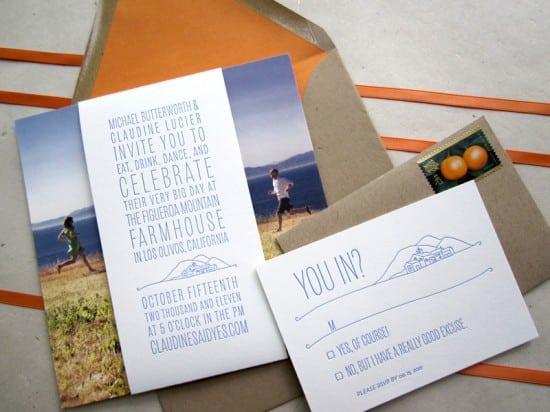 Diy Wedding Invitations Pinterest