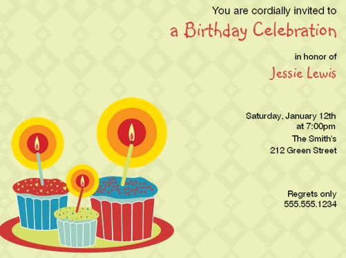 Exemple Invitation Birthday