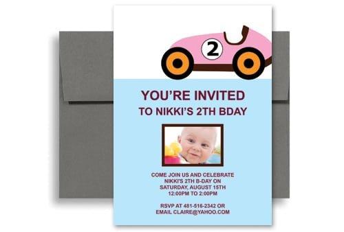 Free 6 Year Old Birthday Invitation Template