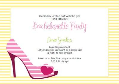 Free Bachelorette Invitation Templates Printable