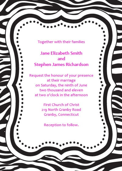 Free Bachelorette Party Invitation Templates For Word