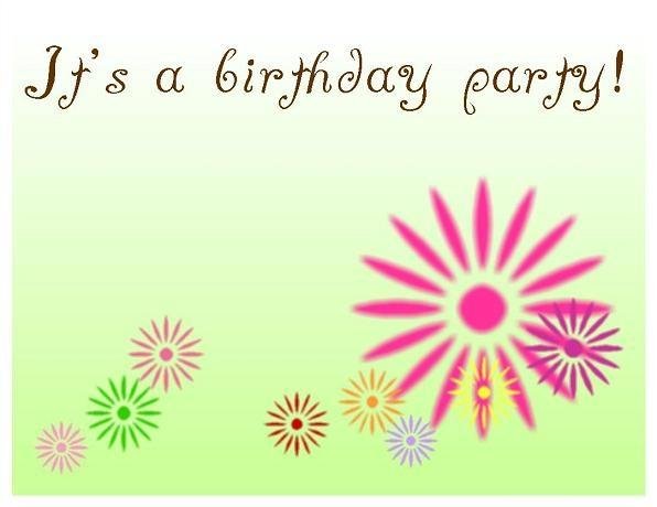 Free Birthday Invitations Templates