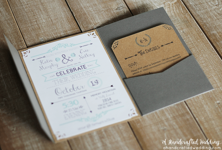 Free Diy Vintage Wedding Invitations