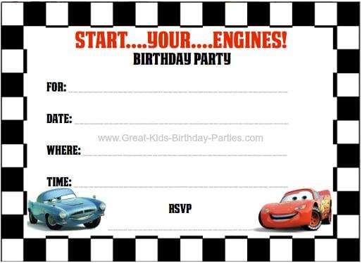 Free Download Invitation Templates Birthday Boy