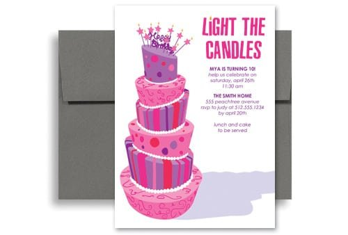 Free Downloadable Birthday Invitations For Girls