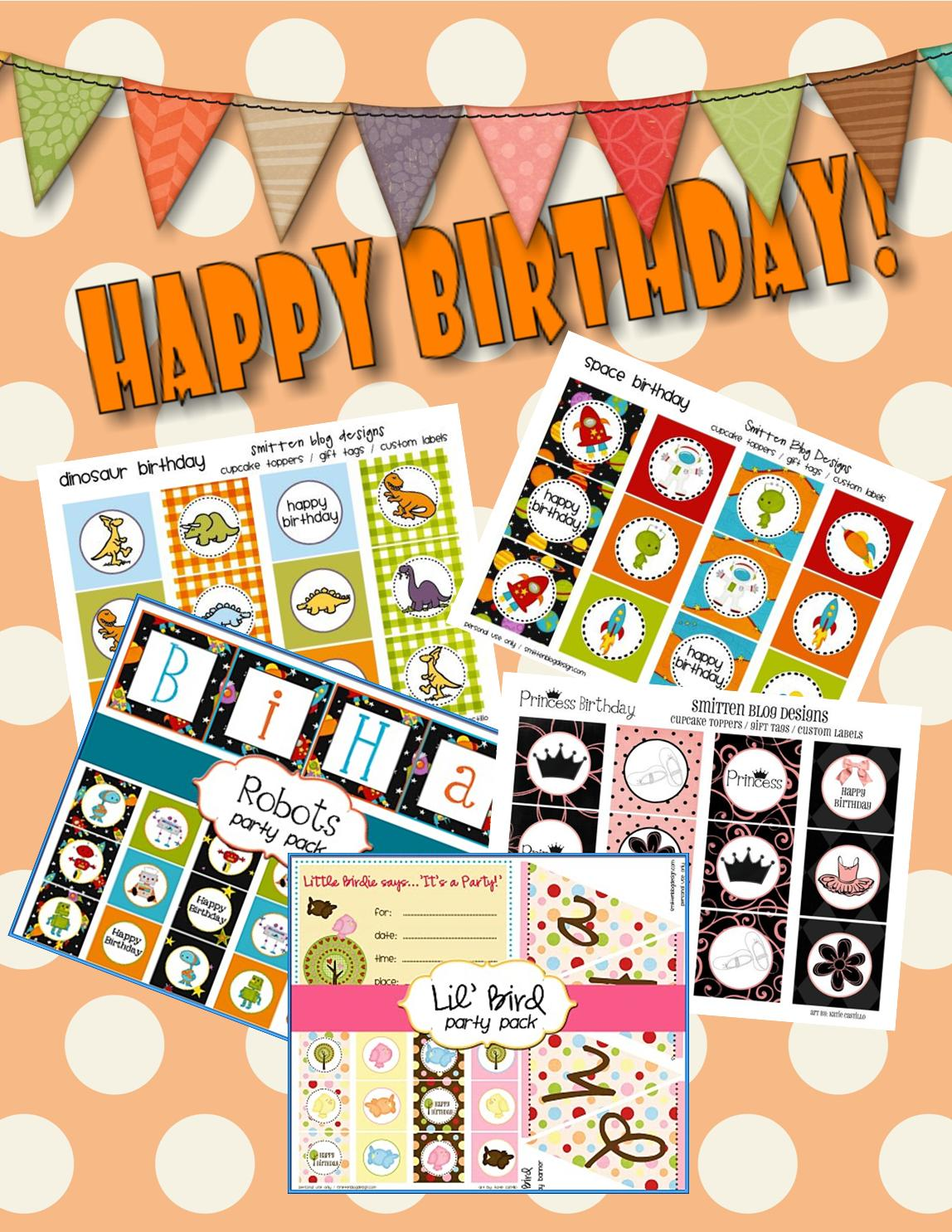 Free Halloween Birthday Party Printables