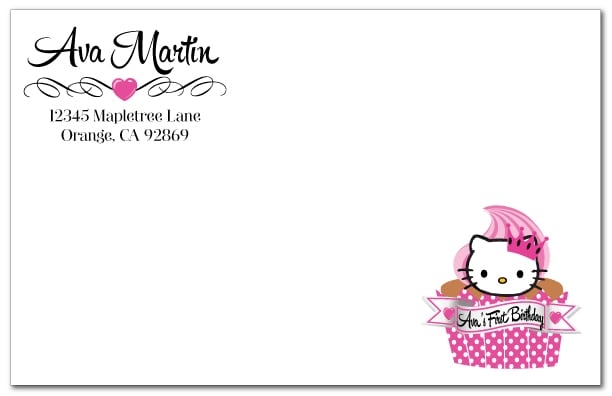 Free Hello Kitty Birthday Invitation Ecards