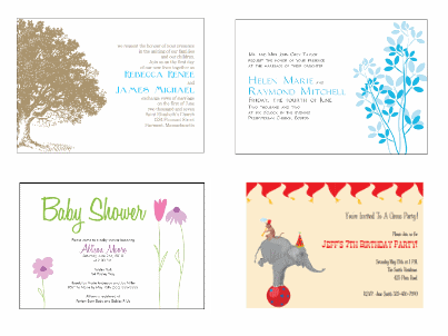Free Invites To Print And Make Your Own