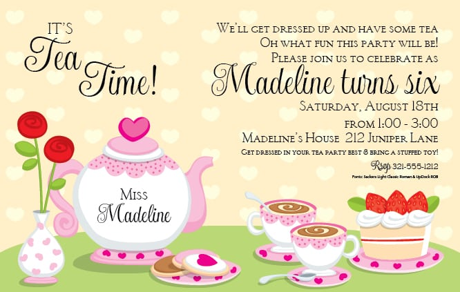 Tea party invitations templates free gidiyedformapolitica tea party invitations templates free princess tea party invitation template stopboris Choice Image