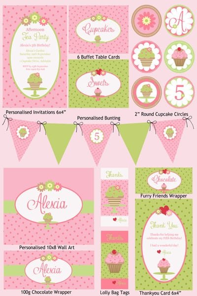 Free Printable Afternoon Tea Party Invitations