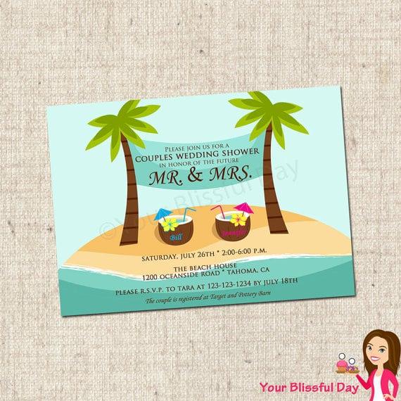 Free Printable Beach Invitation