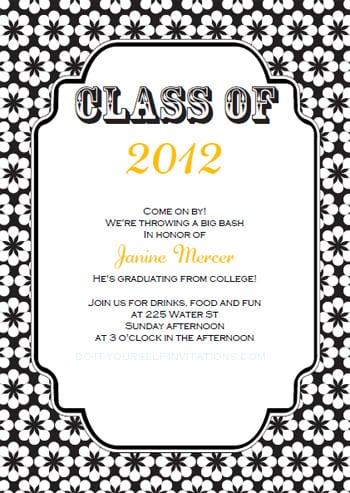 Free Printable Graduation Invitations 2011