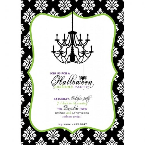 Free Printable Halloween Wedding Invitation Templates