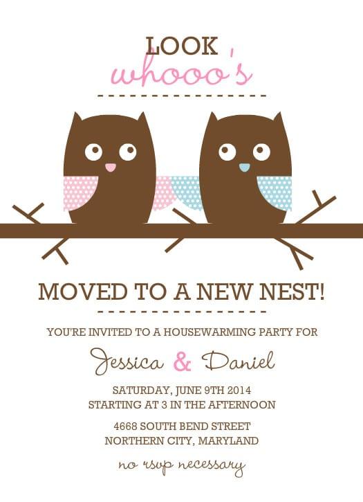 Free Housewarming Invitations Printable