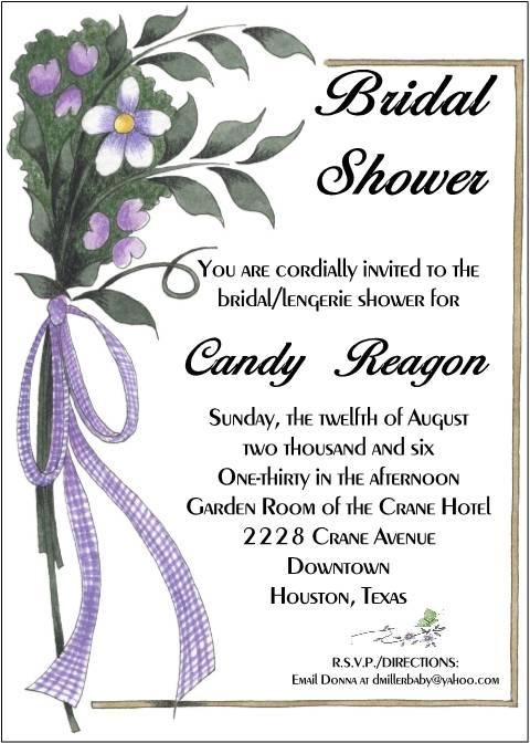Free Printable Invitations Wedding Shower