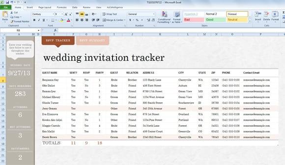 Free Printable Wedding Invitation Templates For Mac