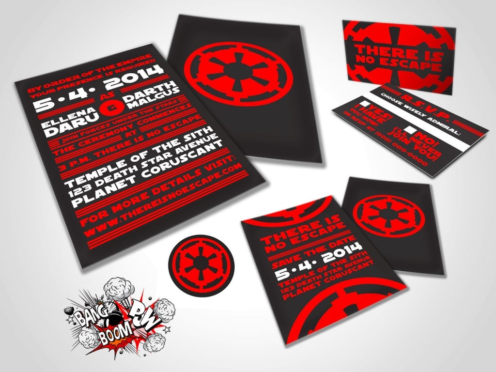 Free Star Wars Save The Date Invitation Templates