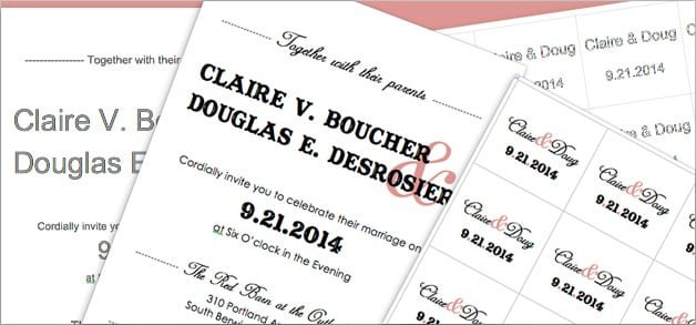 Free Western Engagement Invitation Templates