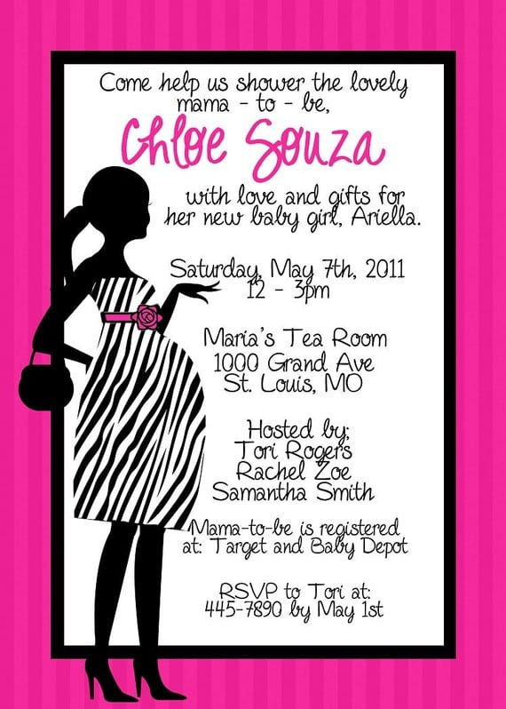 free zebra print invitation templates, Birthday invitations