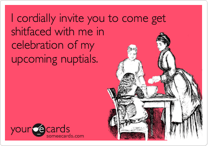 Funny Bachelorette Party Invites