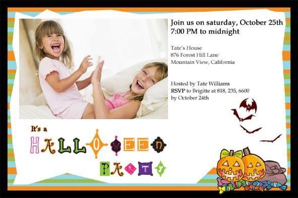 Halloween Invitation Template Downloads