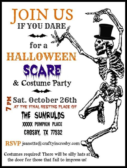 Halloween Invitations 2013