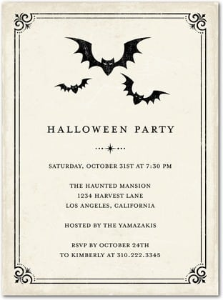 Halloween Invitations Pics