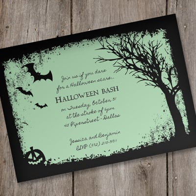 Halloween Invitations Templates Business