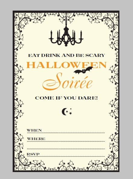 Halloween Invites For Free