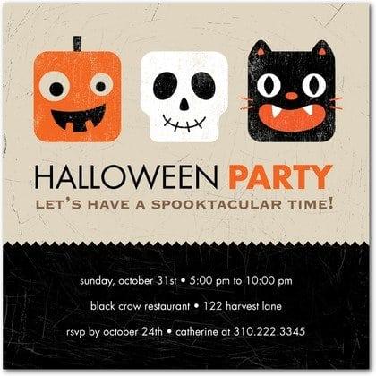 Halloween Party Invitations Ideas - Free