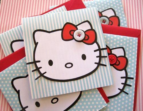 Hello Kitty Birthday Party Ideas Invitations