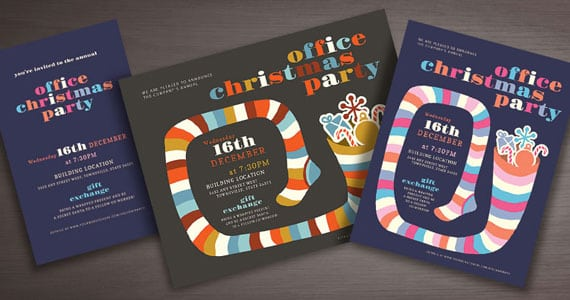 Holiday Invitation Design Inspiration
