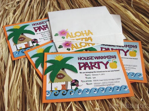 Housewarming Invitations Hawaiian