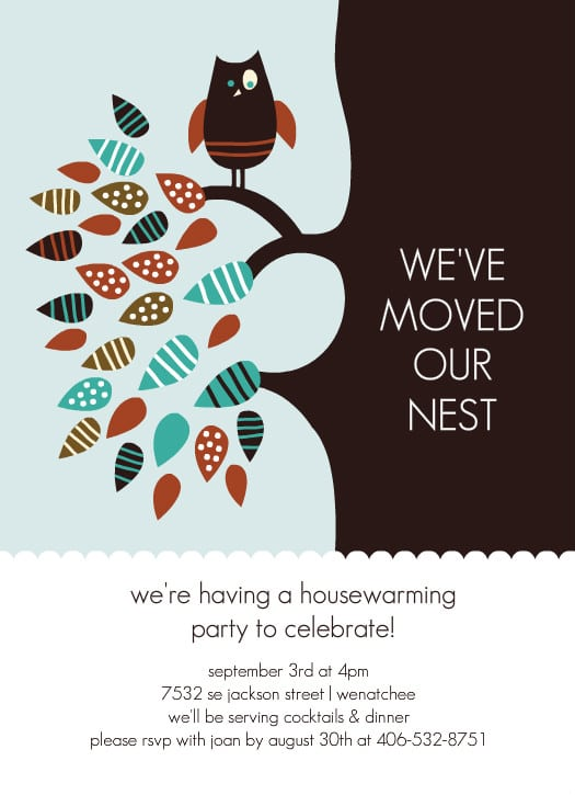 Housewarming Pictures Invitations