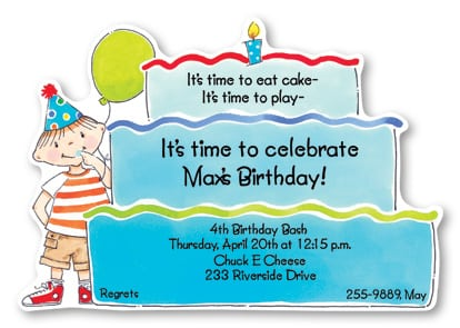 Invitation Birthday Kids