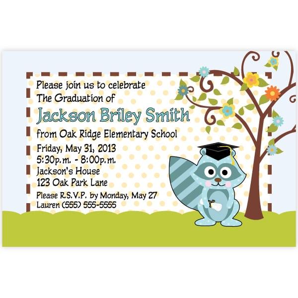 Invitation Letter For Kindergarten Graduation
