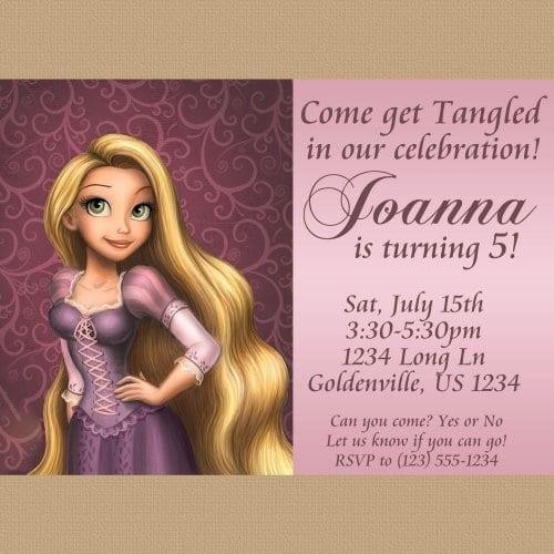 Rapunzel Templates Free