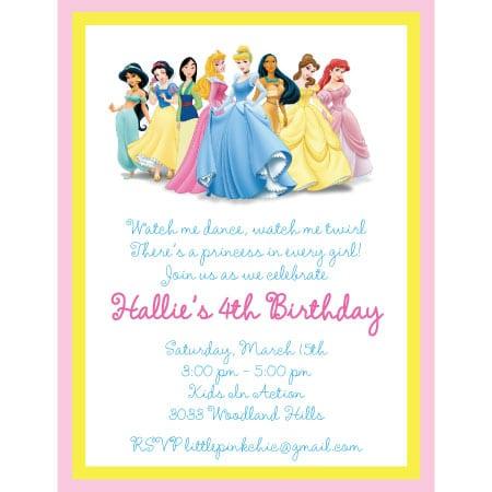 Invitation template princess stopboris Images
