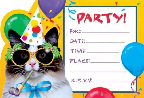 Invitation To Birthday Party