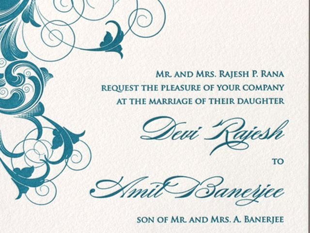 Free Samples Wedding Invitations: Invitation Weddings Template
