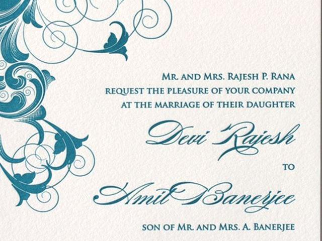 Invitation Weddings Template