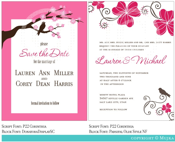 Invitation Weddings Template