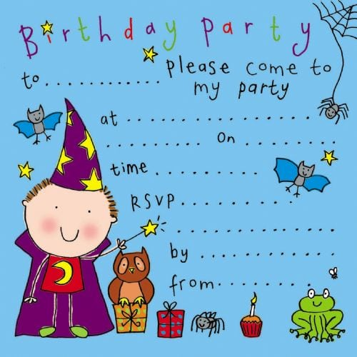 Invitations Childrens Party