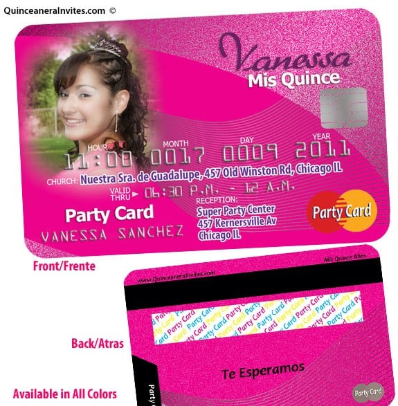 Invitations For Quinceaneras Online