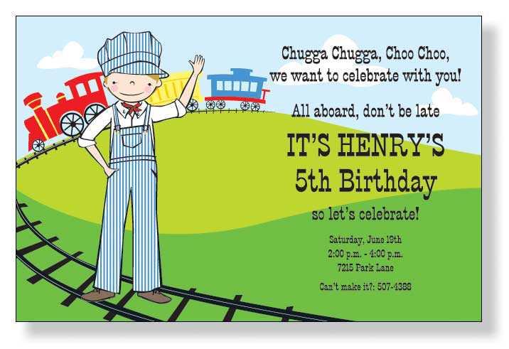 Kid Birthday Invitation Ideas