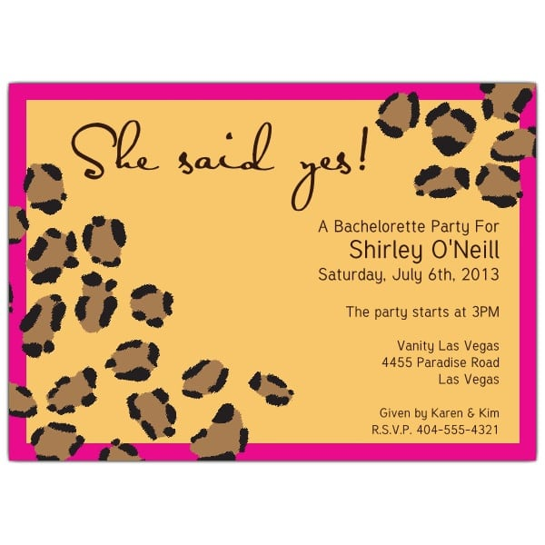 animal print party invitations templates, Birthday invitations