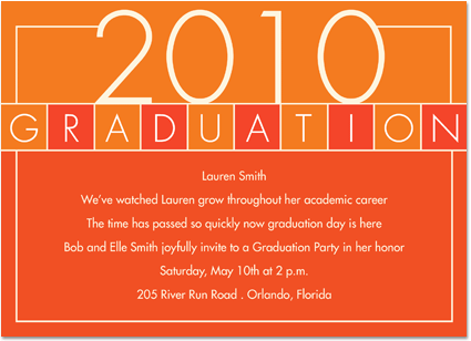 Graduation Party Invitations Jeppefmtk - Sample graduation party invitation