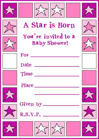 Little Girl Birthday Invitation Templates Free