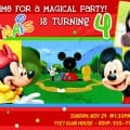 Mickey Mouse Birhtday Invitations
